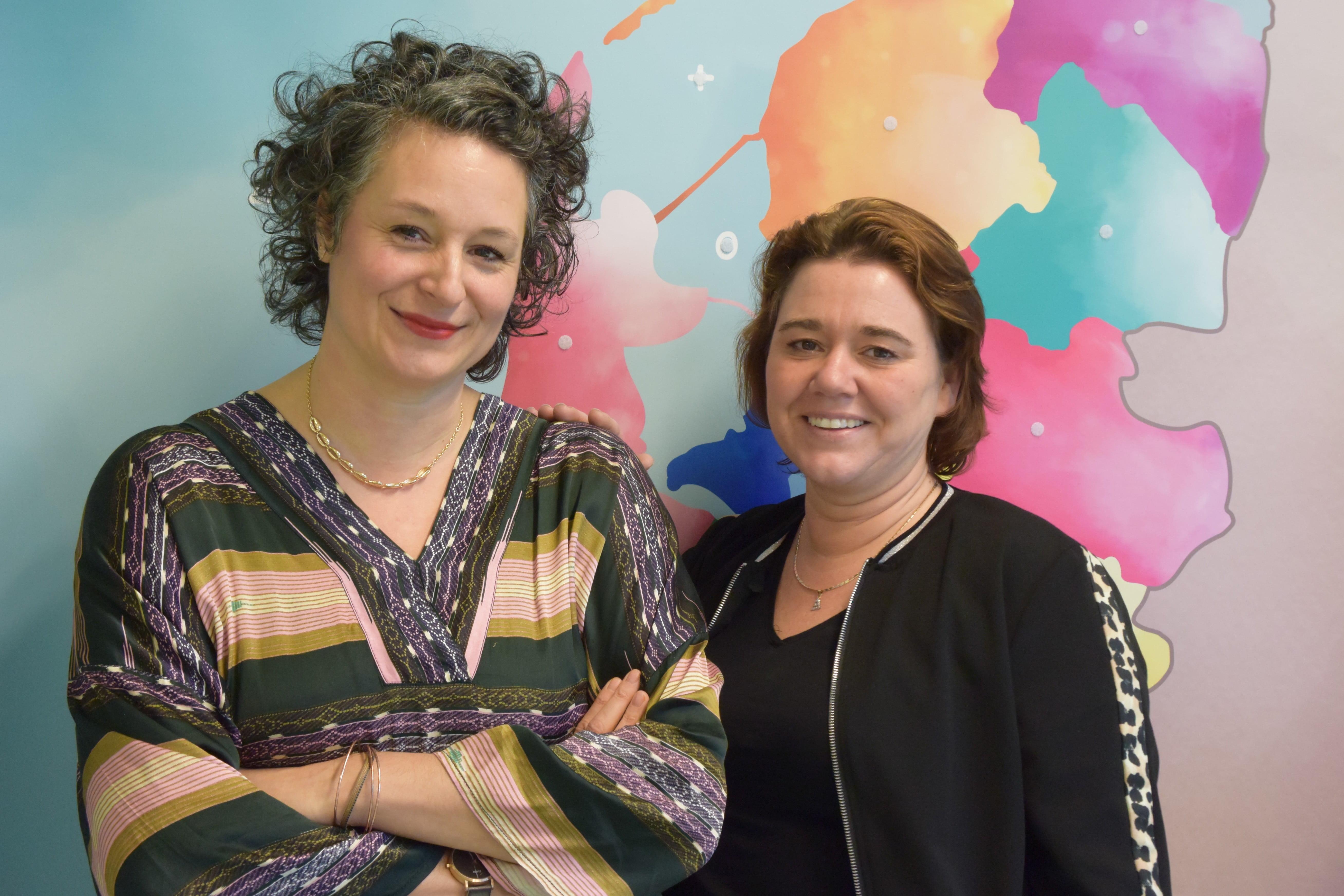Nancy Tadey en Sanne Vreugdenhil