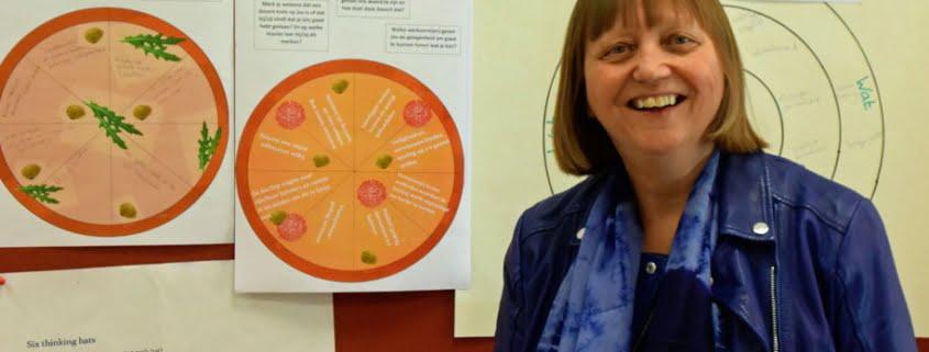 Wilma de Vries, directeur van het Joke Smit College