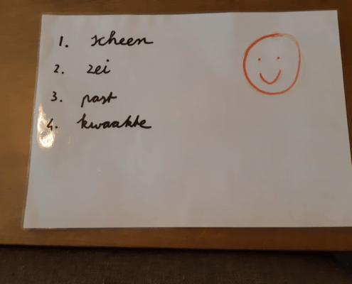 Wisbord gebruiken als whiteboardje