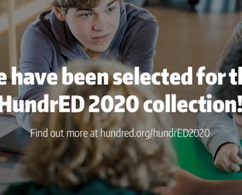 Stichting leerKRACHT geselecteerd voor de HundrED 2020 collection